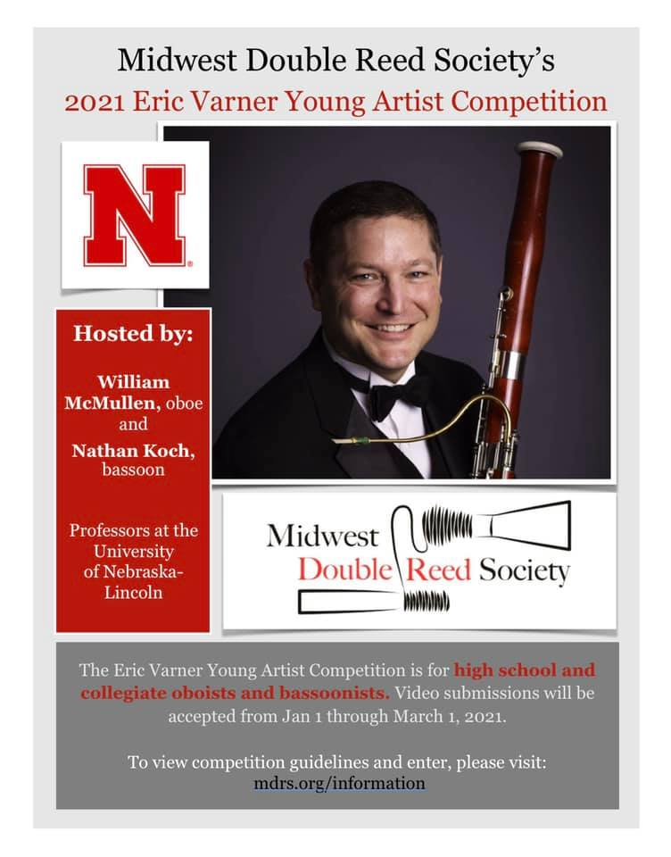 Eric Varner Young Artist Competition Flyer